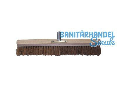 Saalbesen 60 cm Kokos ohne Stiel mit Metall-Stielhalter