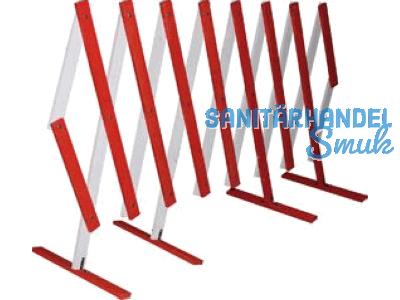 scherengitter holz rot wei lackiert ausziehbar bis 5m. Black Bedroom Furniture Sets. Home Design Ideas