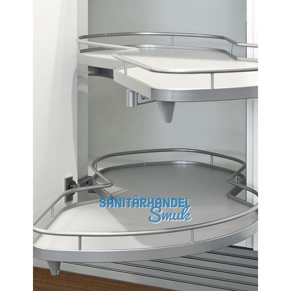 le mans ii schwenkbeschlag inkl tablare boden grau 500er rechts ausschwenkbar sanit rhandel. Black Bedroom Furniture Sets. Home Design Ideas