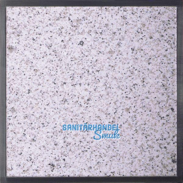 Granitfeld klein, 25 x 25 x 1,2 cm, Bianco Cristall