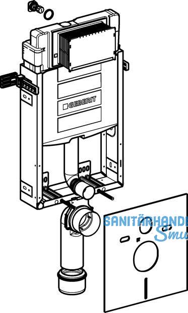 Kombifix Montageelement f WC